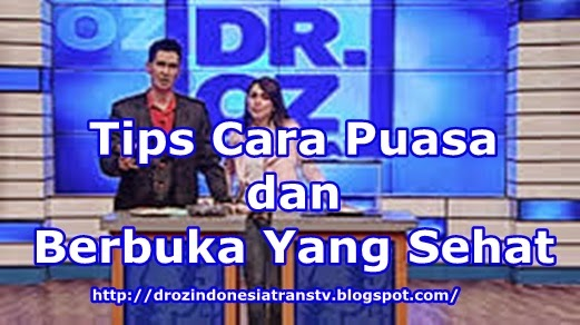 tips puasa dr oz indonesia