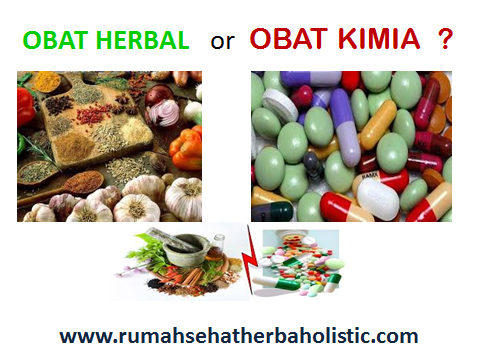 Herbal vs Kimia